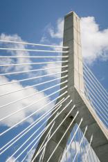 Leonard P. Zakim Bunker Hill Bridge in Boston, MA