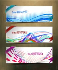 abstract header vector design