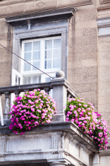 Window amd balcony
