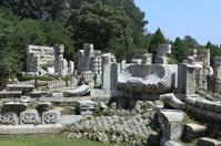 Die Französischen Ruinen im Sommerpalast von Peking