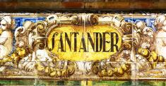 Santander painted on azulejos, Seville