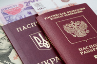 Russian and Ukrainian passports