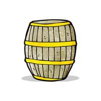 cartoon barrel
