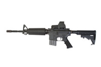rifle with Advanced Combat Optical Gunsight