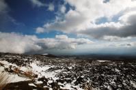 volcanic landscape of etna
