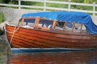 Boat docked in the Bergen Fjords
