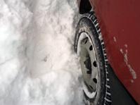Winter tyre.