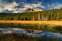 Hat Lake in Autumn, Lassen Natl Park