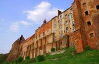 Gothic medieval granaries