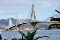 Rion-Antirion bridge, Patras, Greece