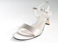 Womens Silver Dress Shoe