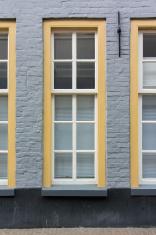 Tall Window on Sidewalk