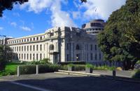 The Beehive, Parliament building, Wellington, New Zealand
