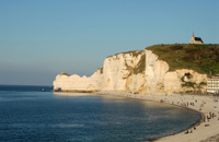 Beach of Etretat