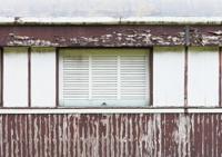 Window on an old wall