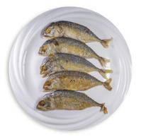 mackerel fry ,Thai food