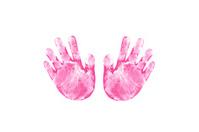 Child's Cutout hands