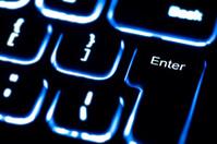 illuminated keyboard - 'Enter' key