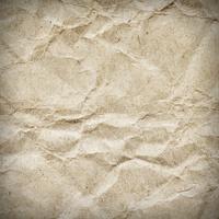 old, crumpled vintage paper texture