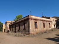 building at ghost mining village asproni in sardinia