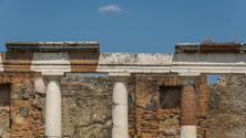 Roman ruins in Pompei, Italy