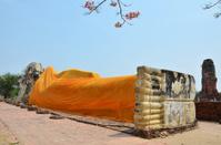 Reclining Buddha of Wat Lokayasutharam Temple