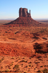 Monument Valley in Arizona and Utah.