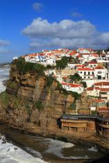 Portugal, Sintra, Azenhas do Mar village.