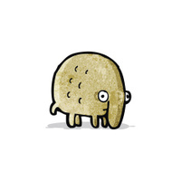funny little animal cartoon