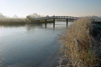 Bridge over Frozen Canal