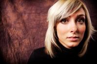 Young adult blonde woman portrait