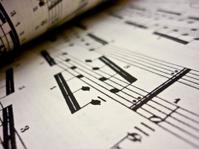 Sheet music scores