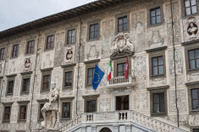 building of University on Piazza dei Cavalieri in Pisa