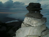 Man of rocks