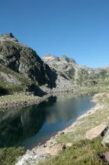 En Beys lake in Pyrenees