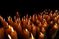 Church candles in Paris