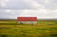Icelandic Rural Farm Building