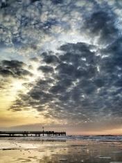 Autumn Sunrise on Bournemouth Beach