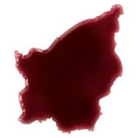 Pool of blood (or wine) shaping San Marino.(series)