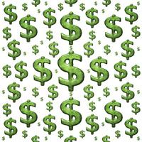Money Symbol Background Pattern