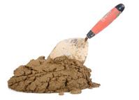 Mortar and Spade Shovel