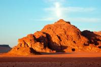 Wadi Rum evening landscape, Jordan