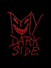 My Dark Side Typographic Design