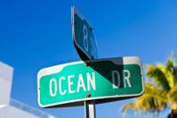 Ocean Dr. In Miami, Florida
