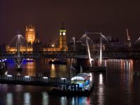 London Cityscape At Night