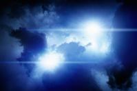 Lights in sky