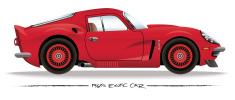 Sixties Sports Car