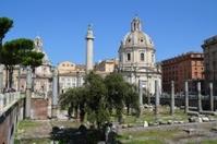 Roman Forum, Via dei Fori Imperiali, Rome