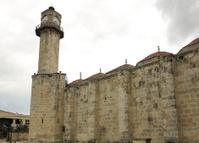 old histroical mosque minaret at tarsus mersin turkey