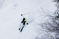 Woman Skier in Aspen, Colorado